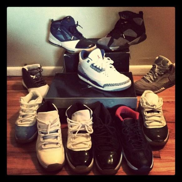 Sneaker Fiends - Air Jordans - Led Black