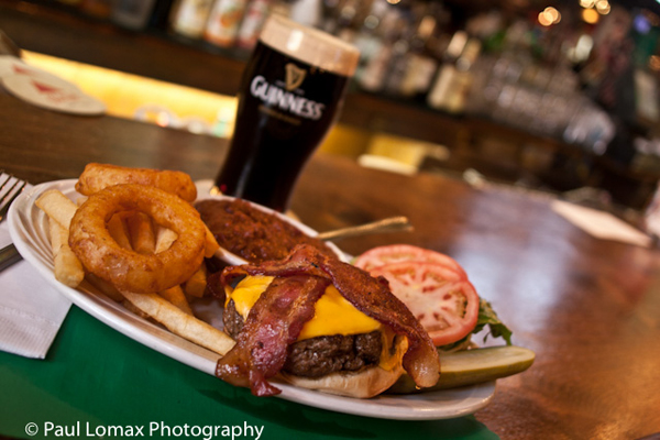 Burger And Guiness Piper's Kilt of Inwood
