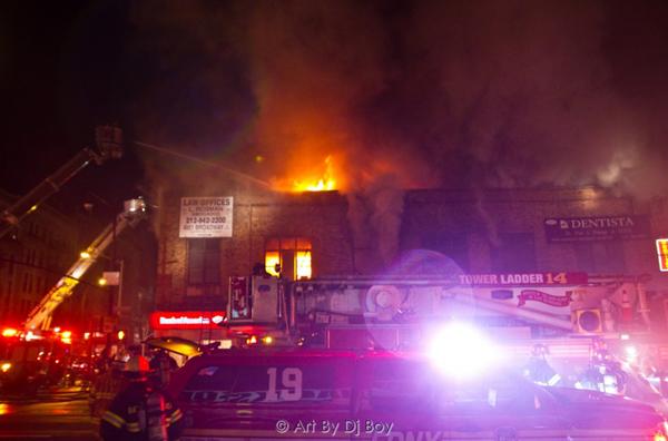 207th Street Fire