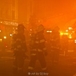Four-Alarm Fire on Nagle | Manhattan Times