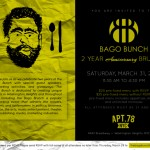 The Bago Bunch 2 Year Anniversary Brunch Goes Down This Saturday @ Apt 78