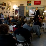 Save The Coliseum Meeting @ Word Up Books In Pictures
