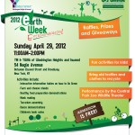 Uptown Earth Week Extravaganza on Sunday April 29th