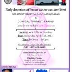 Uptown Health: Free Breast Cancer Screening