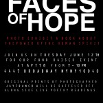 Faces of Hope Fundraiser @ Apt 78 Tomorrow