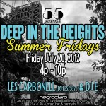 55′s Deep in the Heights @ Negro Claro Lounge Tomorrow