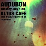 Audubon to Perform @ Altus Tomorrow