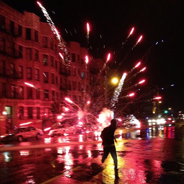July 4th Fireworks Washington Heights