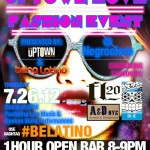 The Uptown Collective & Being Latino Present Uptown Love @ Negro Claro on Thursday, July 26th