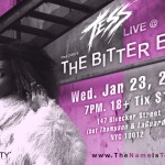 Uptown's Own Tess Performing @ The Bitter End Tonight