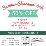 Get Your Read On @ Word Up Books Summer Clearance Sale