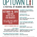 The Uptown Lit Festival: The Social Media Recap