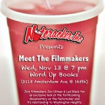 Save The Date: 11/13/13 - Nutcracker Inc. Presents Meet The Filmmakers @ Word Up Books