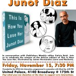Catch Junot Diaz @ The United Palace