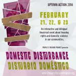 The People's Theatre Project Presents Domestic Disturbance