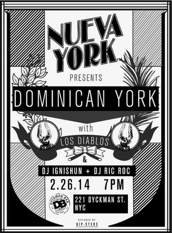 Nueva York Pop Up Shop Dyckman Bar