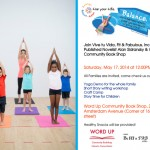 5/17/14: Live Your Life Healthy Habit Workshop @ Word Up Books