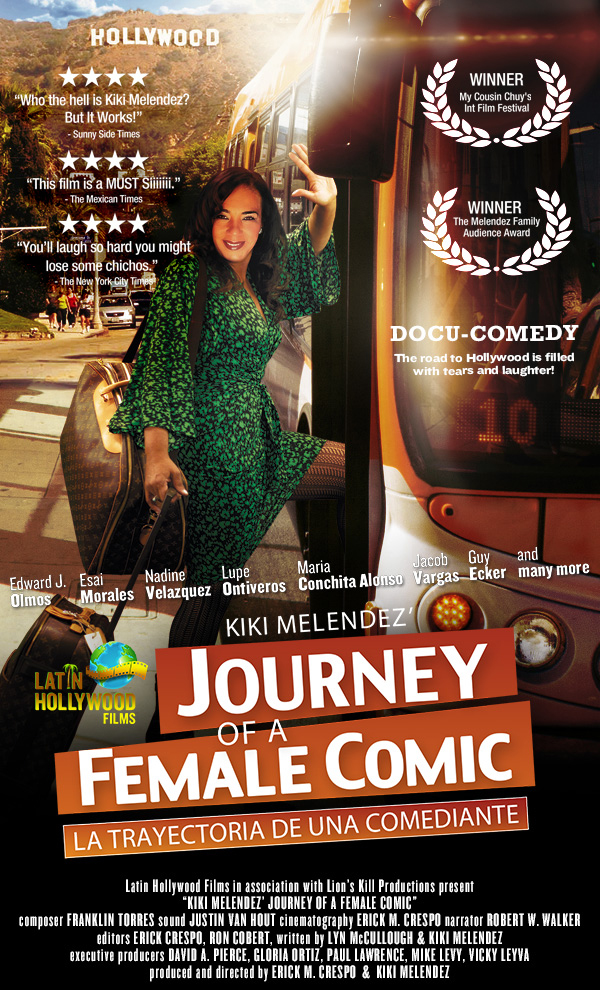 Kiki Melendez - Journey of a Female Comic