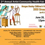 6/28/14: 2nd Annual Artist Health Fair