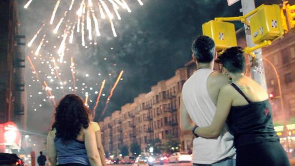 Dyckman Fireworks - NY Daily News