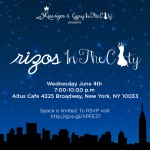 Uptown Tonight: Miss Rizos In The City @ Altus