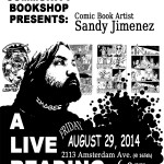 8/29/14: Word Up Books Presents Sandy Jimenez