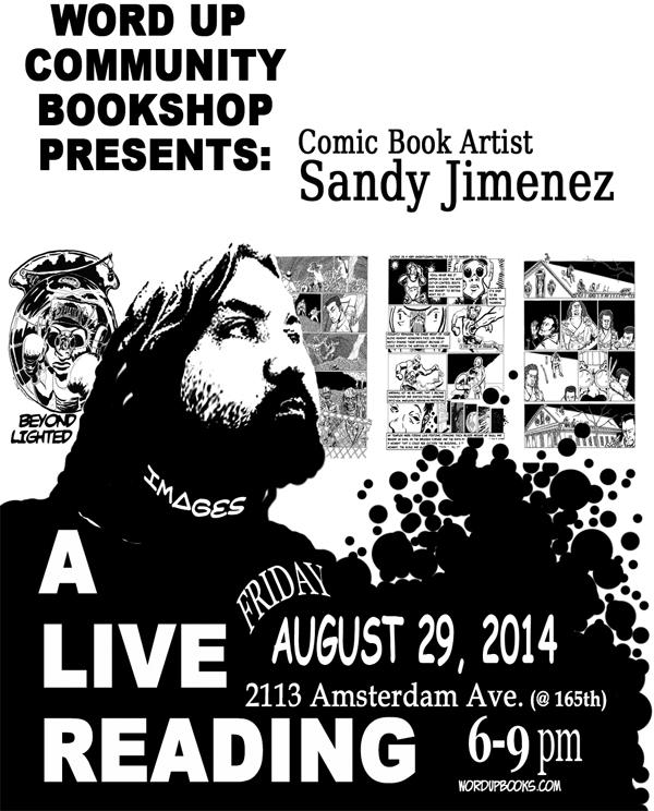 Sandy Jimenez - Word Up Books - Washington Heights