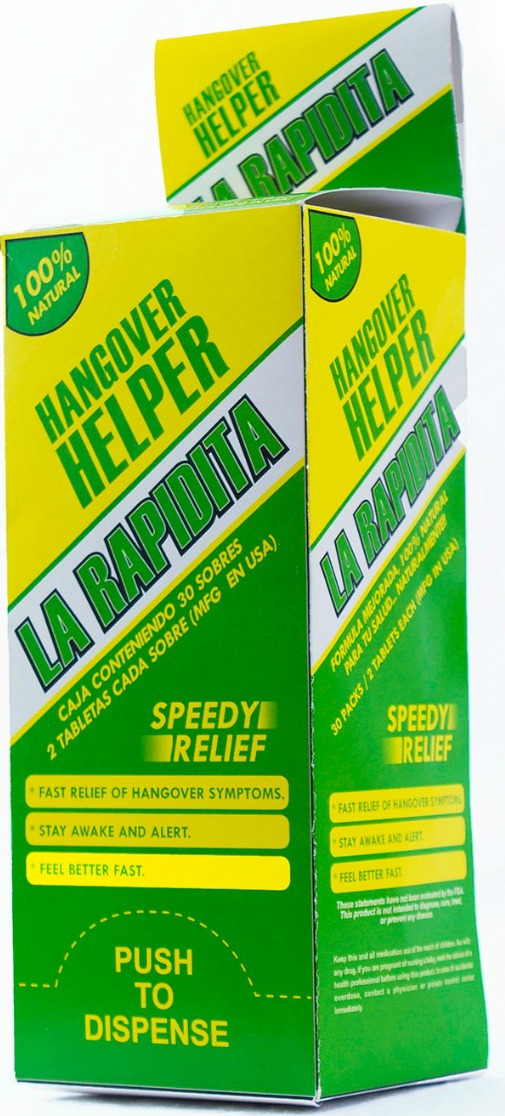 La Rapidita - Dominican Hangover Helper - Washington Heights