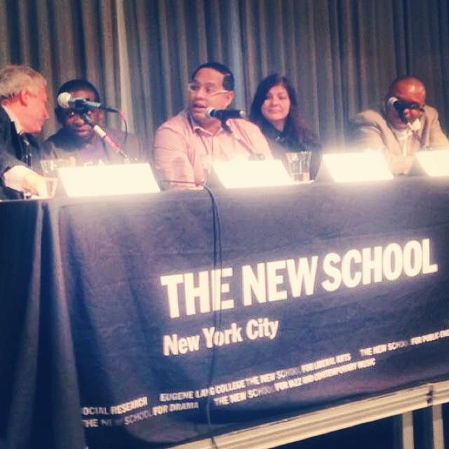 Led Black - The New School - Crossing Broadway