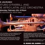 2/4/15: Arturo O'Farrill & the Afro Latin Jazz Orchestra @ El Museo del Barrio