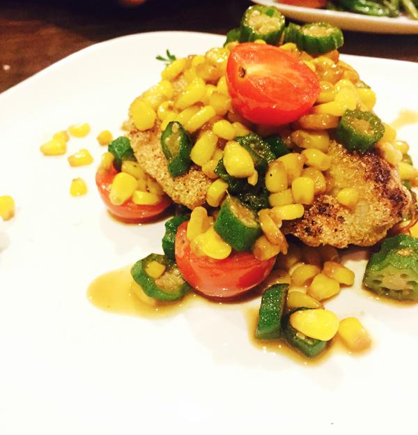 BLVD Bistro - Harlem - Fish Okra