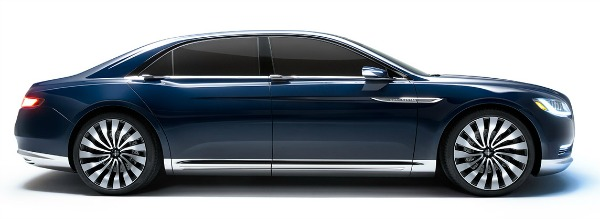 NY Auto Show - Lincoln Continental 1