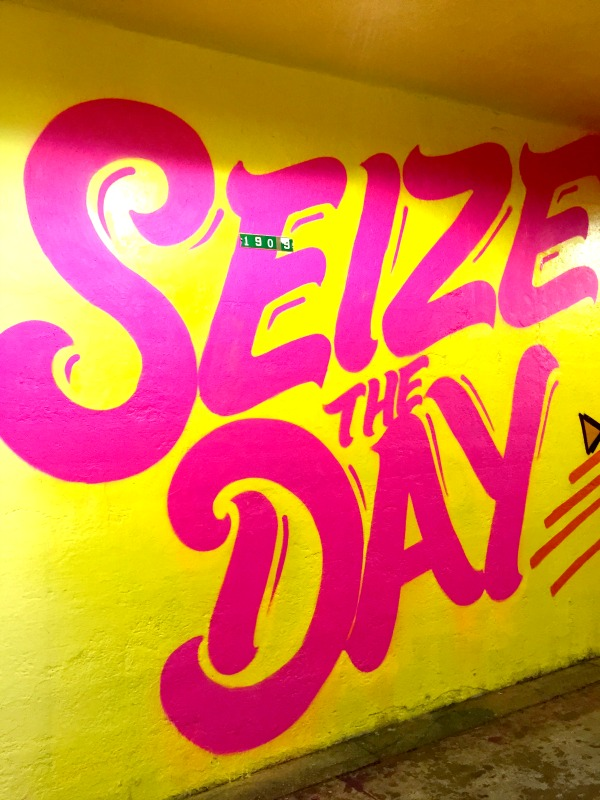 191 Street Tunnel - Washington Heights - Seize The Day