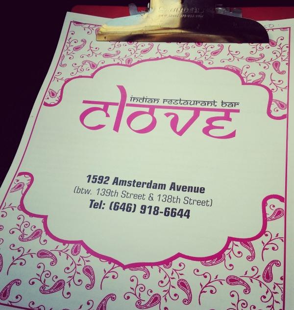 Clove Harlem - Menu