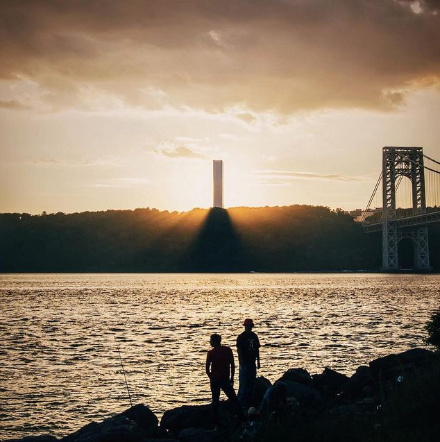 Sunset - George Washington Bridge - Washington Heights