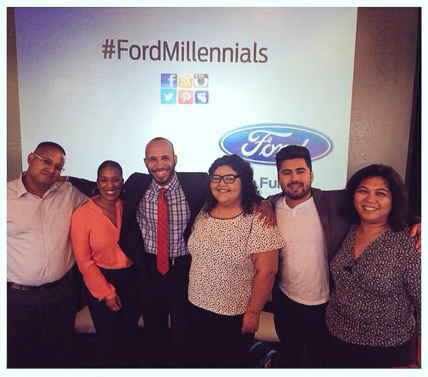 Ford Millennials - Vanessa James - Panel