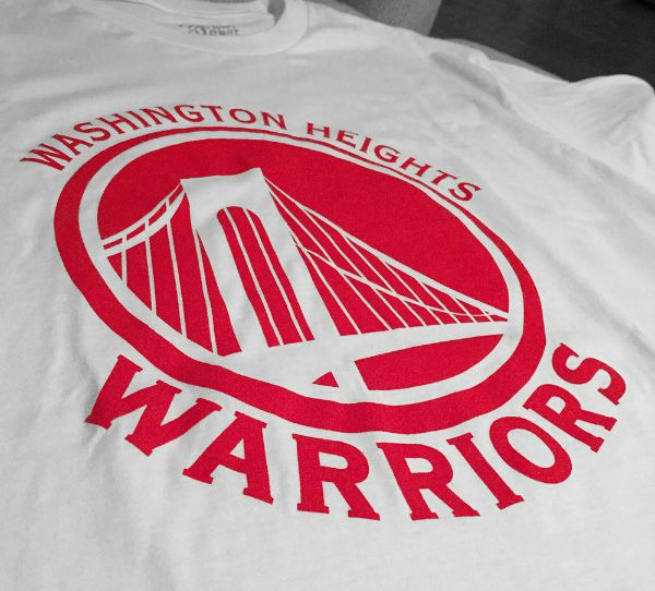 Washington Heights Warrior Tee - Side - Uptown Collective