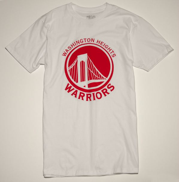 Washington Heights Warriors Tee - Uptown Collective - Washington Heights