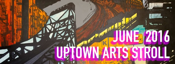 Uptown Arts Stroll 2016 Poster