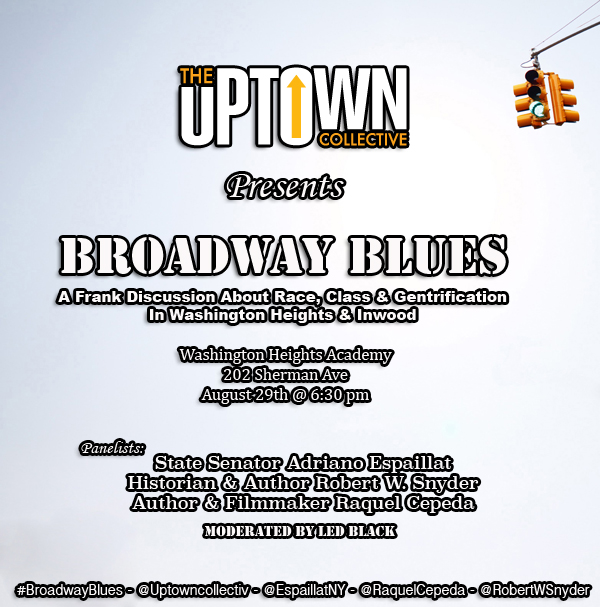 Broadway Blues - Flyer - Latest