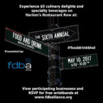 05/10/2017: The Sixth Annual Food & Drink Boulevard