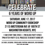 06/17/17: Celebrate 6 Years of Word Up