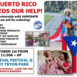 Spread Love: Donate To Help Puerto Rico @ The Medieval Festival
