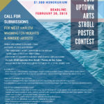 Call For Submissions: 2018 Uptown Arts Stroll Poster Contest